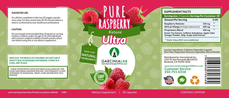 Raspberry Ketone Pure Weight Loss Supplement 1000 Mg Usa Made Pills