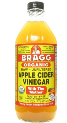 Bragg Usda Organic Raw Unfiltered Apple Cider Vinegar 16 Oz. With Mother