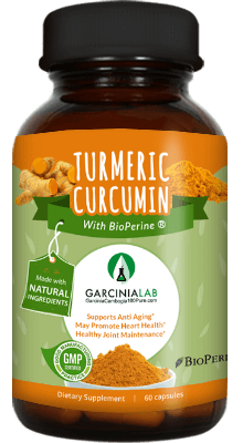Turmeric Curcumin with Bioperine (1300 MG Per Serving)
