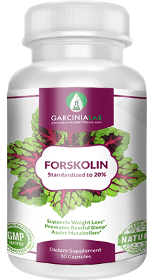 Premium Forskolin Extract (100% Natural) 20% Standardized. 30 Cap.