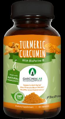 Turmeric Curcumin with Bioperine (1300 MG Per Serving)